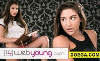 Abella Danger 2021 August Ames Eats out her Step-Sister