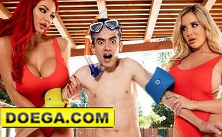 Brazzers Sexy Lifeguards Nicolette Shea & Savannah Bond Save a Cock