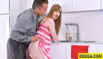 Dolly Leigh 2021 New Porn Babysitter Stuck in Sink Fucked by Boss