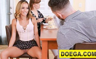 FamilyStrokes 2021 Hot Teen Flashes Pussy for Pervy Uncle