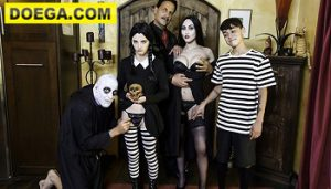 Halloween Costume 2021 Free Party Ends with Creepy Family Orgy