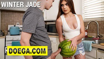 Winter Jade 2021 Walks in on Step Bro and his Huge Cock