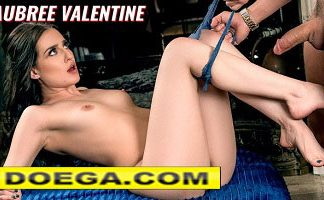 Aubre Valentine Porn Hd Gets Face Fucked and Creampie
