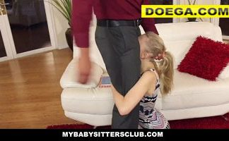 Lily Rader 2021 Porn Pale Skinned BabySitter Fucked by Homeowner