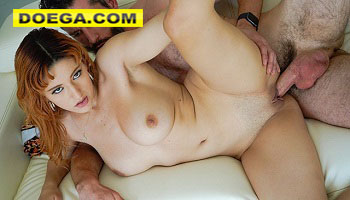 Hot Ginger in Swimsuit Keely Rose Enjoys Big Dick in a Hotel Room