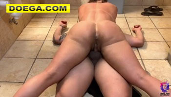 Fit Latina Gets Fucked in the Gym's Bathroom best Ride Ever